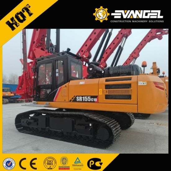 Cheap Sany Well Drilling Rig Sr155c10 Hydraulic Rotary Drilling Rig pictures & photos