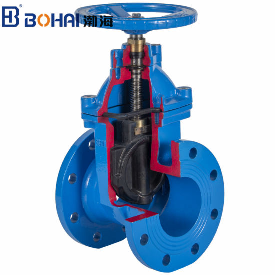 Ductile Iron/Wcb/Stainless Steel Non Rising Resilient Seat Industrial Control Gate Valve