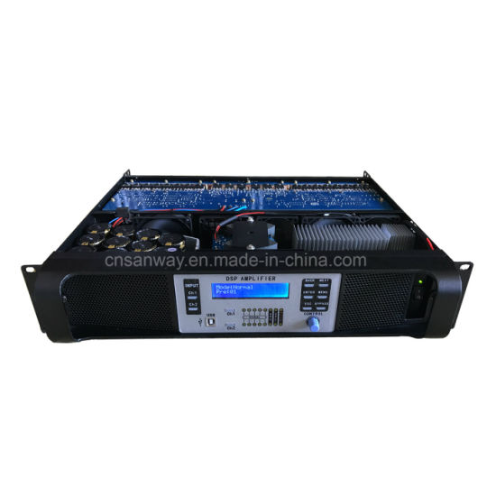 DSP-14k 2 Channel Digital Professional Amplifier with Ethernet pictures & photos