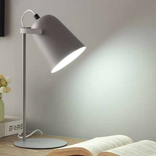 Bedside Table Lamp for Kids Room Reading Room Different Colors