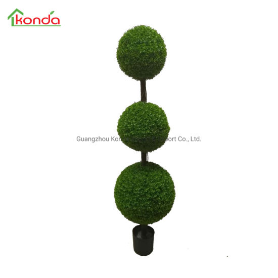 Konda Customized Evergreen Cypress Artificial Topiary Plant