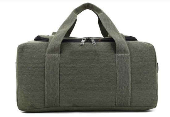 Heavy Duty Green Army Canvas Duffel Bag pictures & photos