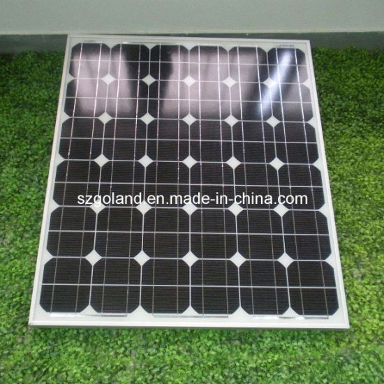 Mono Crystalline Silicon Solar Panels (GCC-120W) pictures & photos