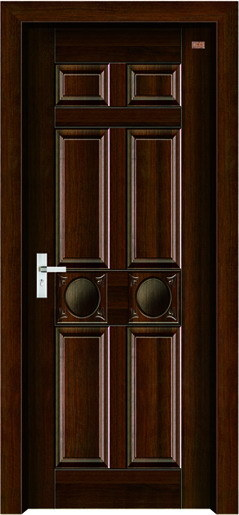 Interior Steel Wooden Door (LTG-104) pictures & photos