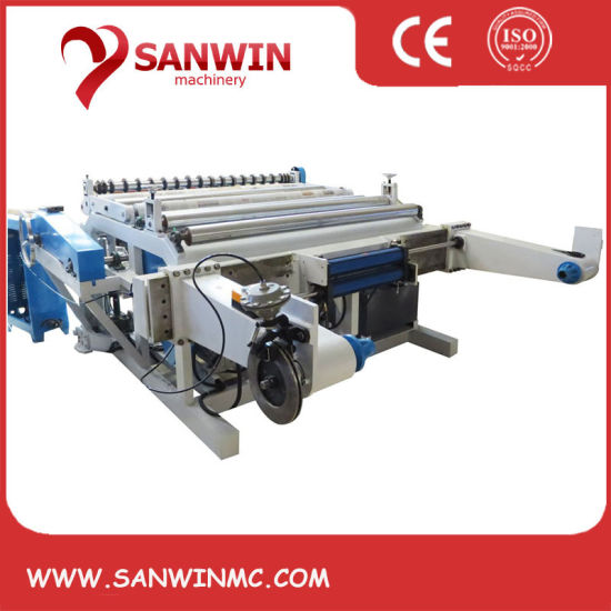 High Speed Automatic Paper Roll Slitting Machine