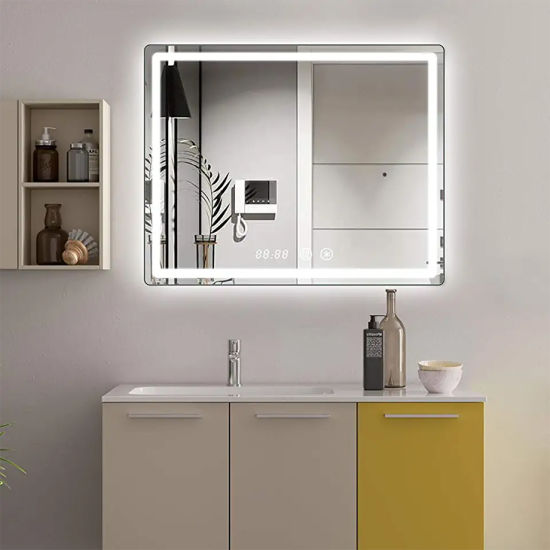 Miclion LED Bathroom Wall Mounted Mirror with LED Light Factory