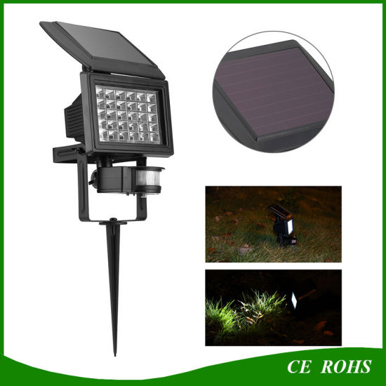 China motion sensor security solar light led flood lamp outdoor motion sensor security solar light led flood lamp outdoor garden ground landscape spot light aloadofball Images