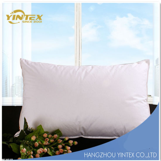 China Duck Down And Feather Filling Cotton Fabric Wholesale Pillow Inspiration Down Feather Pillow Inserts Wholesale
