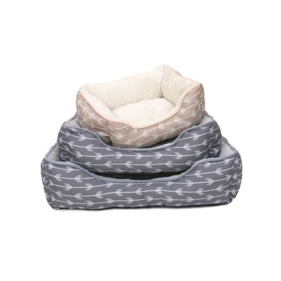 Factory Supply Attractive Price Custom Plush Cosy Warm Pet Bed (YF95273)