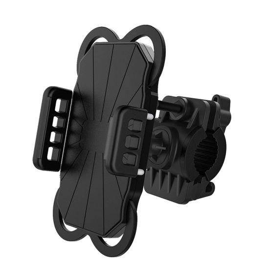 360 Degree Rotation Adjustable Flexible Silicone Bike Bicycle Motorcycle Phone Holder