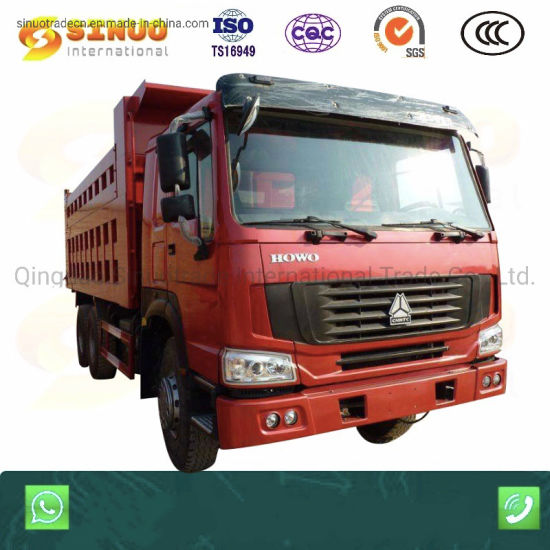 Used HOWO Dumptrucks with 10 Wheels 6X4 Second Hand Sinotruk Sinotuck Heavy Duty Truck Middle Lift Best Condition Competitive Price Hot Sale