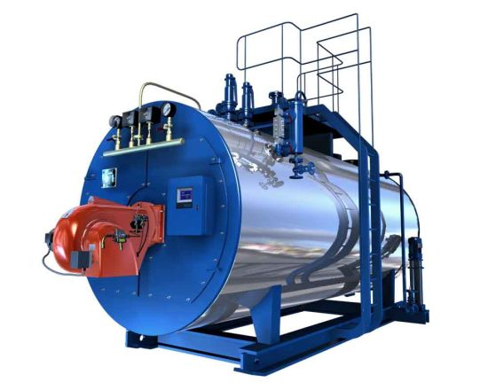 Wns Horizontal Oil and Gas Fired Hot Oil Boiler China - China Boiler ...