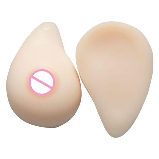1 Pair Mastectomy Postoperative Silicone Breast Forms Artificial Silicone False Breast For Woman