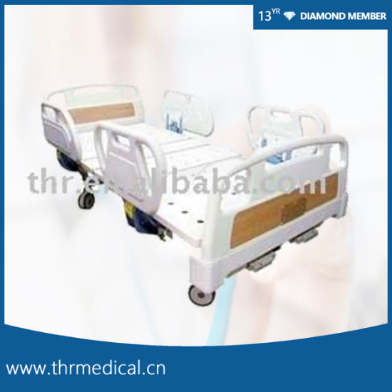 2 Crank Manual Hospital Bed for Sale (THR-MB215)