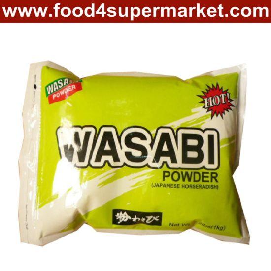 Wasabi Powder in Iron Tin or in Bag 1kg for Sushi Seasonings