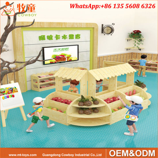 Cowboy Wooden Montessori School Furniture for International School