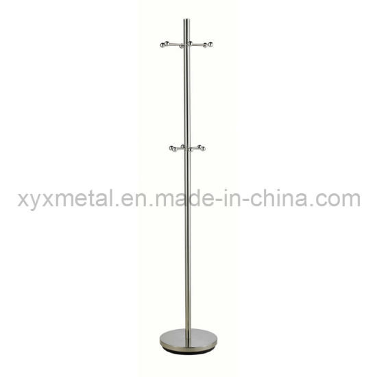 China Fashionable Simple And Modern Style Stainless Steel Metal Coat Amazing Simple Coat Rack