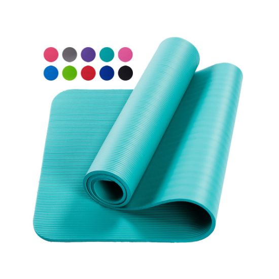 Dfaspo NBR Yoga Mat Fitness Equipment Non-Slip