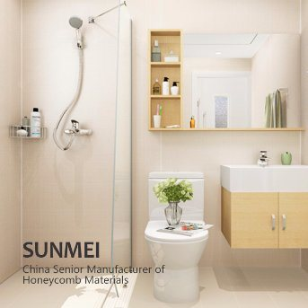 Prefab Modular Bathroom Shower Toilet Stall Cabin With SGS Med Imo Certification