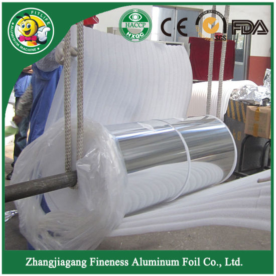 Jumbo High Quality Aluminum Foil Roll pictures & photos