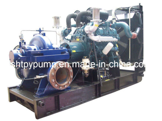 Tpow Horizontal Double Suction Split Case Pump pictures & photos