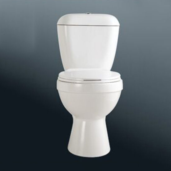 European Style Sanitary Ware White Color Closet Toilet