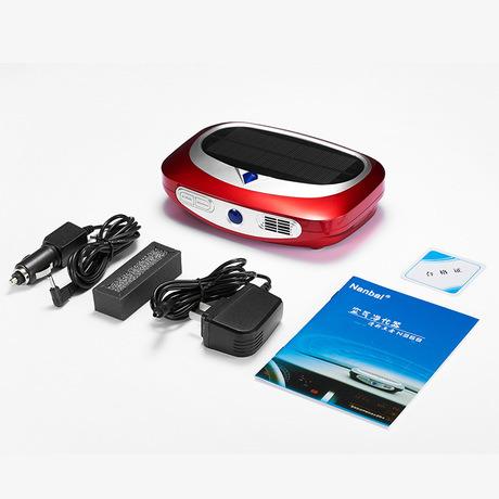 Portable Mini Car Air Purifier Car Ionizer Purifier with USB, UV
