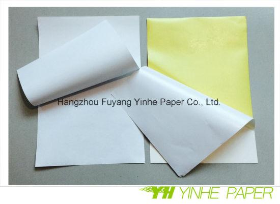 A4 Glass Bottles Metallic Glossy Self Adhesive Sticker Paper