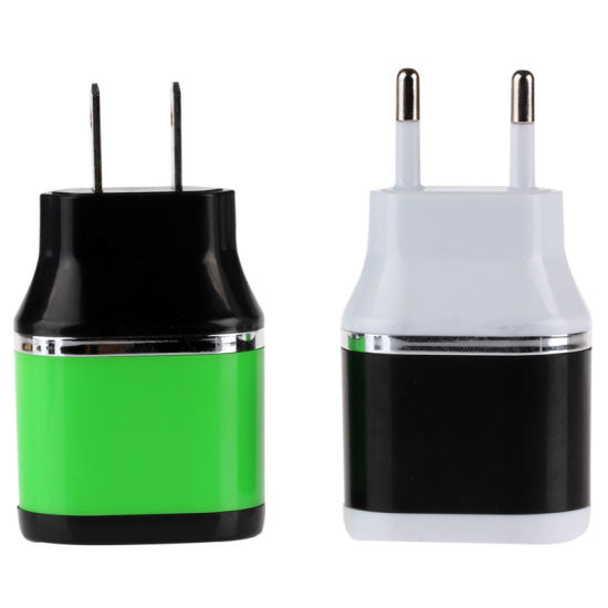 2USB 2.1A American Standard/ European Standard Charger pictures & photos