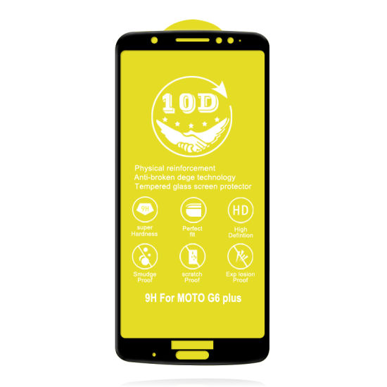 10d Tempered Glass for Moto G6 Plus, G7 Power pictures & photos