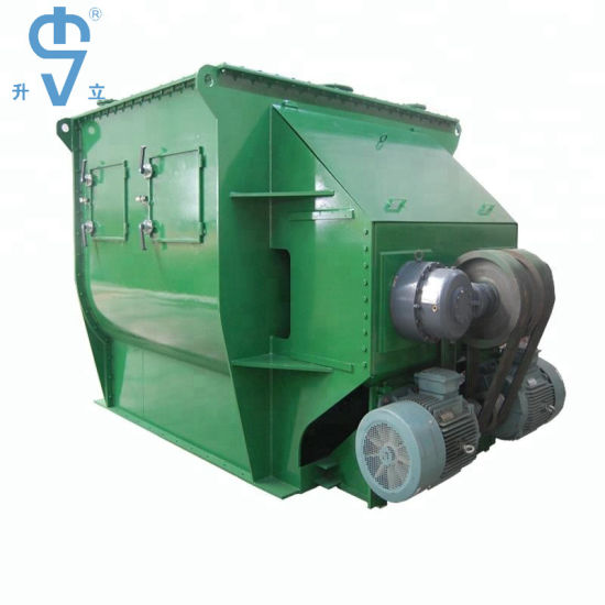 1000L Double Paddle Dry Motar Mixer with Ce Certificate