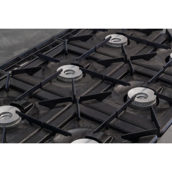 Equipment 4 Burner Gas Cooker