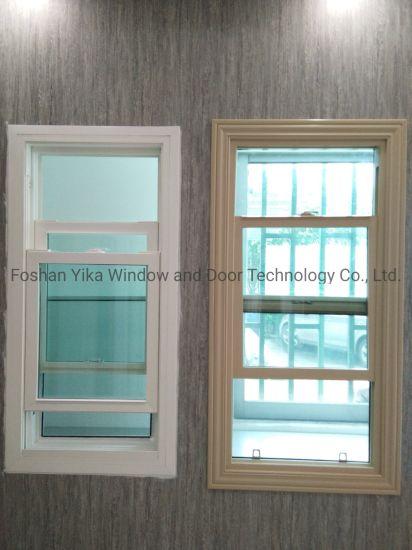 Yika Hot Seller Cheap Price Single Hung/ Double Hung UPVC Window