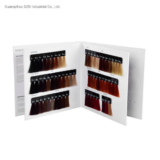 Detachable Hair Color Swatch Catalogue for Hair Dying pictures & photos