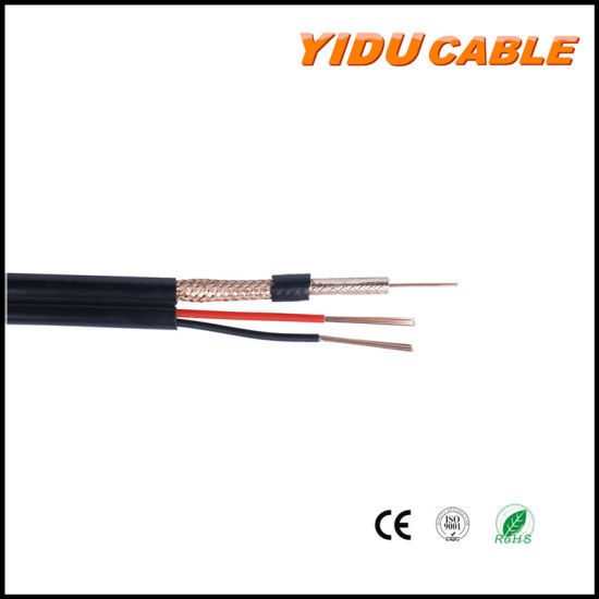 RG6+2c Rg59+2c Composite Siamese Coaxial Cable for Setellite/Monitor/CCTV Camera pictures & photos