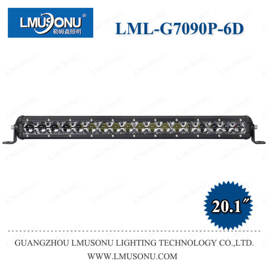 Lmusonu G7 New 15W 30W 60W 90W 120W 135W 180W 240W 6D Lens CREE LED Bar Lights Straight Single Row for Offroad Car Truck Vehicles