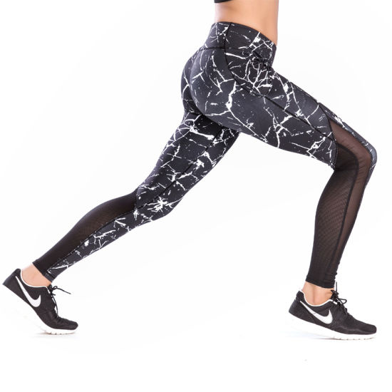 Wholesale Custom Leggings Sublimation Printed Yoga Pants