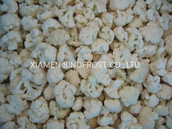 Best Prices, Good Quality, New Crop IQF Frozen Cauliflowers, Frozen Cauliflowers, IQF Cauliflowers, IQF Cauliflowers Cuts, IQF Cauliflowers Nuggets pictures & photos