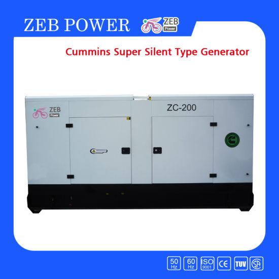 Super Silent Cummins Diesel Generators (ZC22-ZC1000)