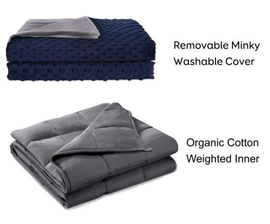 Wholesale 60X80 15lbs Sensory Weighted Blanket for Adult