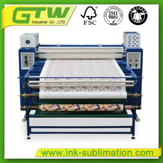 Sublimation Heat Transfer Machine for Roll to Roll Fabric Printing