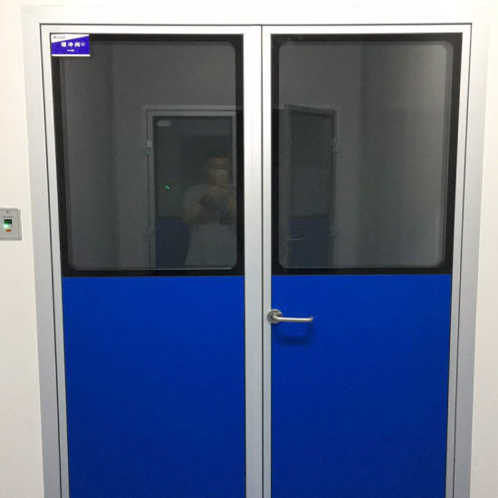 China Industial Interior Hpl Door For Vhp Resistant Disinfection