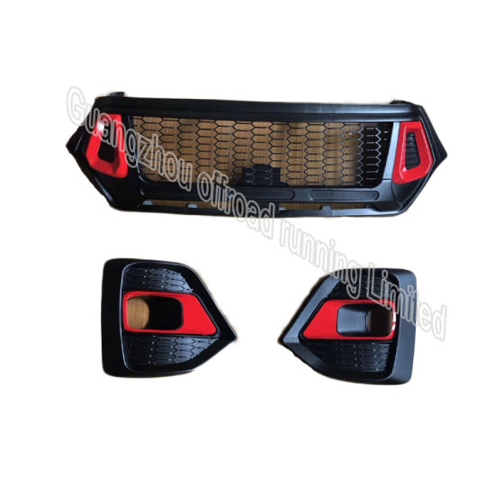 Car Front Bumper Grille for Hilux Rocco 2018 4X4