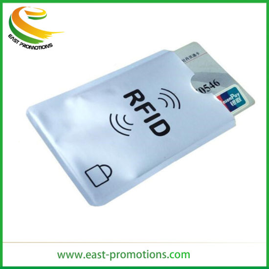 Supply RFID Blocker Aluminum Foil Card Holder for Credit Card Protect pictures & photos