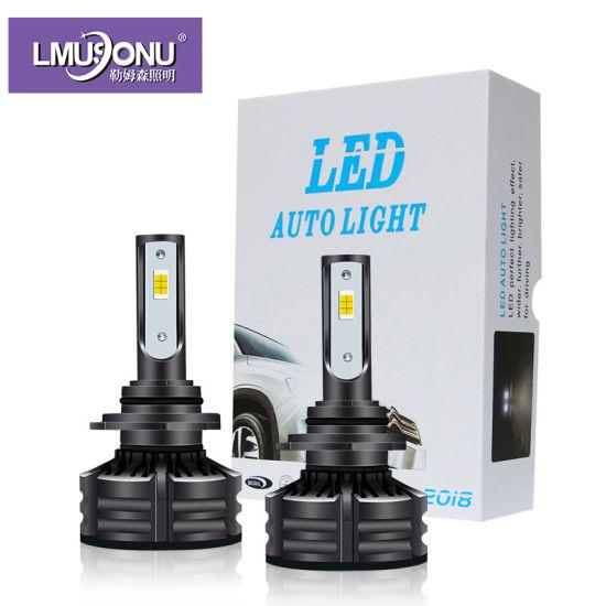 Lmusonu High Quality Canbus D1 D2 D3 D4 H4 H7 H11 H13 9005 9006 T6 LED Headlight Car Light Three Colors White Yellow 10000lm