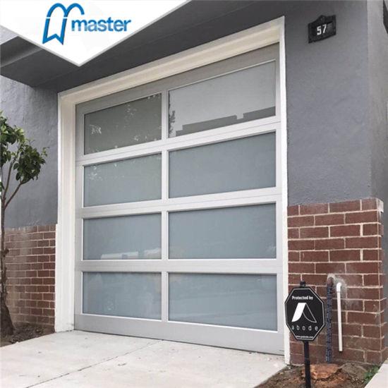 Factory Direct Sale Sectional Glass Garage With Pedestrian Sliding Door China Plexiglass Garage Doors 9x8 Garage Door Made In China Com