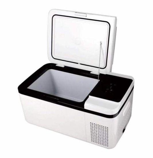 12V DC Compressor 18L Mini Car Refrigerator with Ce, RoHS