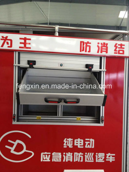 Vehicles Parts Safety Protection Fire Equipment Aluminium Drawer