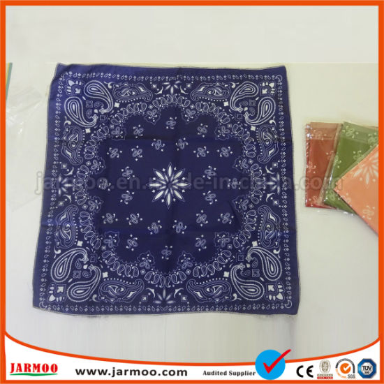 Wholesale Polyester Cotton Head Square Scarf