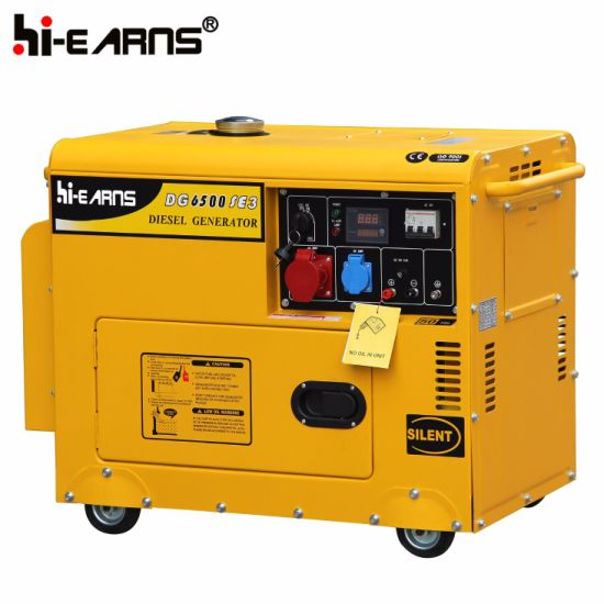 4kw Diesel Generator Set with 9HP Engine (DG5500SE) pictures & photos